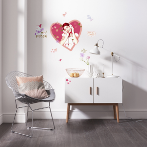 violetta wallsticker