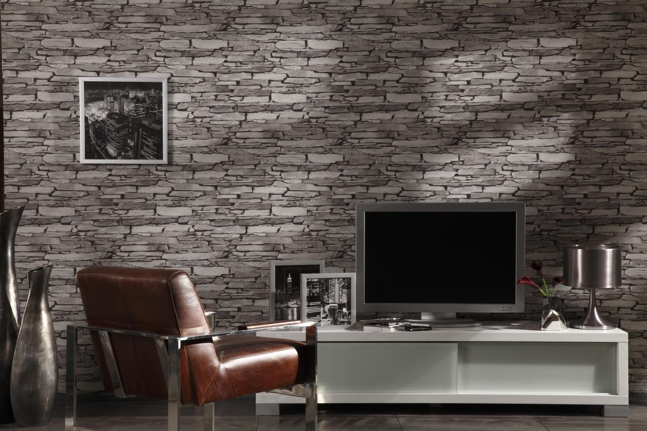 mursten tapet Tapet Lutece 51122309 | Tapet og Kunst mursten tapet