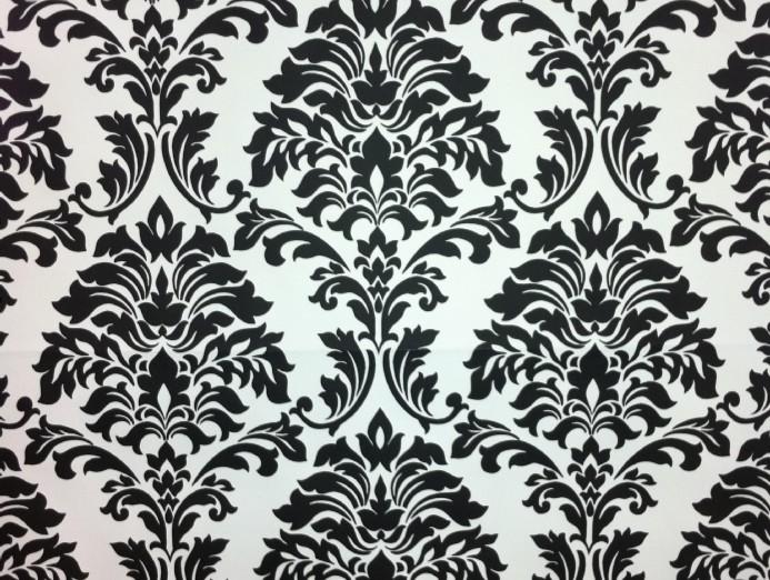 mønstret tapet Sort og hvid tapet fra tapet og kunst mønstret tapet