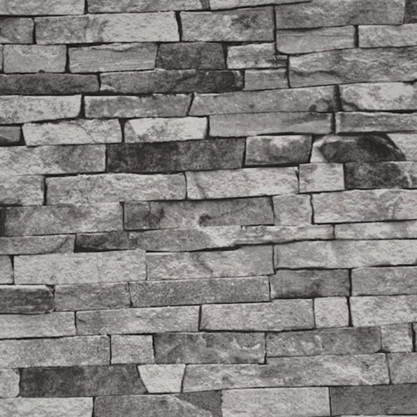Murstenstapet-i-grå-og-sort