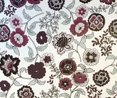 selvklæbende folie fleurs