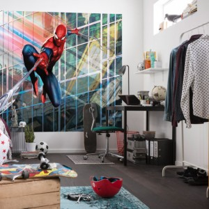 Fototapet-spiderman-rush