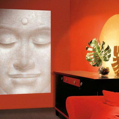 fototapet Smiling-Buddha-1