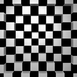 fototapet black + white
