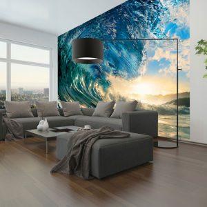 fototapet perfekt wave