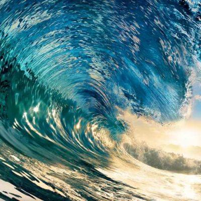 fototapet perfekt wave2