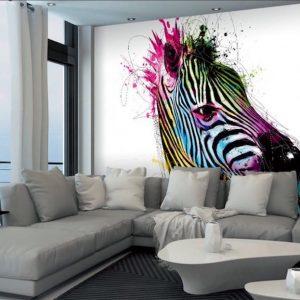 fototapet zebra