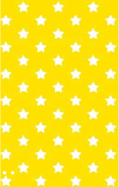 yellow stars folie