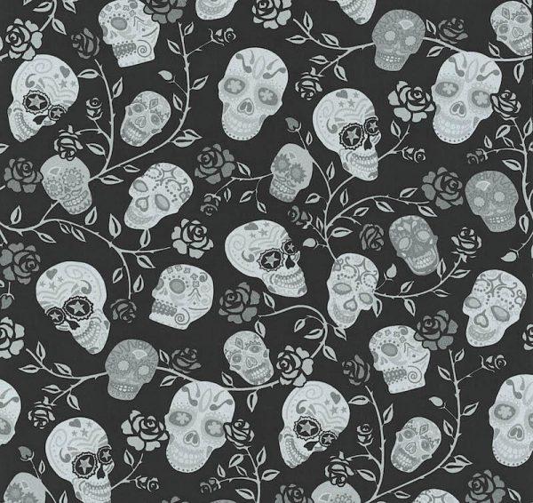 tapet_skulls_sort