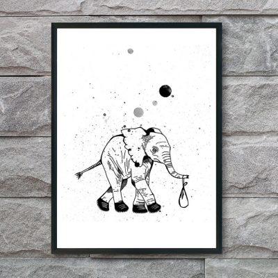 plakat-med-elefant
