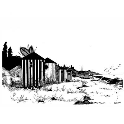 plakat-med-strand