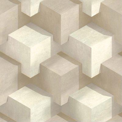 Tapet med firkanter