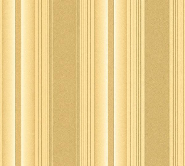 Tapet guld striber