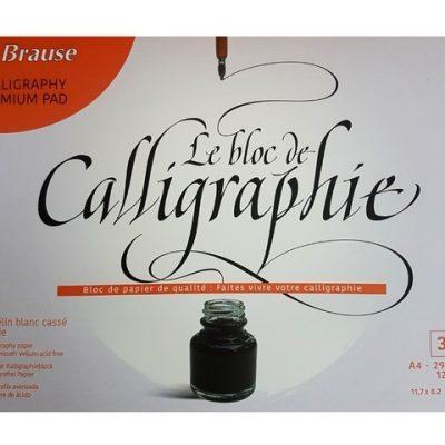 Calligraphie blok