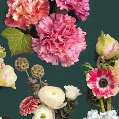 Fototapet med blomster fra Casadeco
