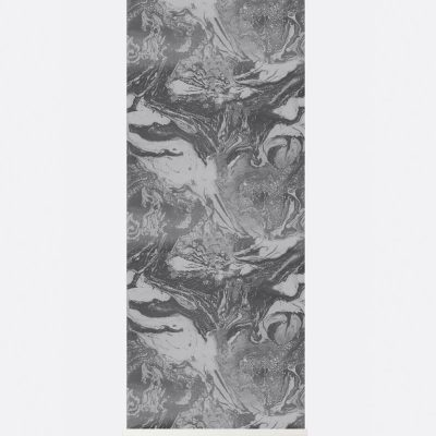 Ferm Marbling Wallpaper - Charcoal