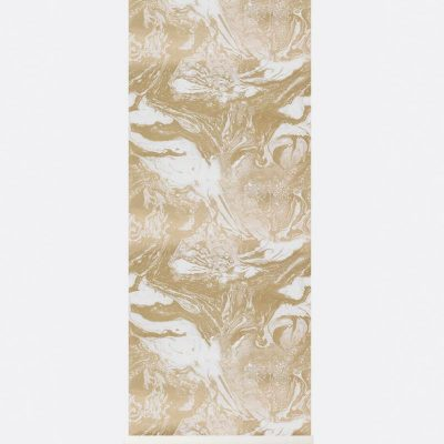 Ferm Marbling Wallpaper - Gold