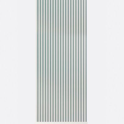 Ferm Thin Lines Wallpaper -DustyBlue:OffWhite