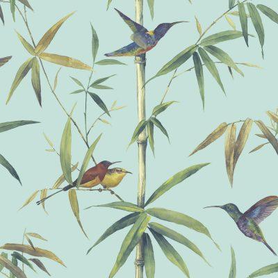 Tapet-med-kolibri-fugle-2
