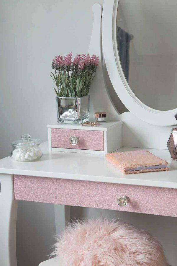 Glitter Pink folie miljø