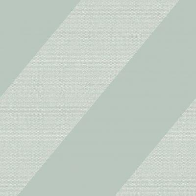Tapet i sart lys grøn med skråstriber af små sølvprikker