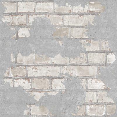 tapet m murstensvæg i New Yorker stil med afskaldninger