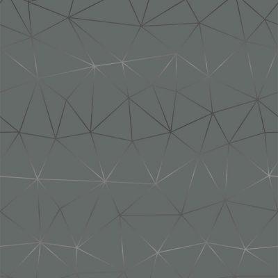 selvklæbende folie i mørkegrå med sølvmønster i stjernemønster med sølv